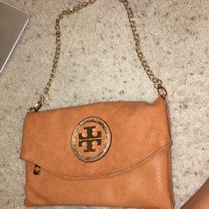 Brown tory burch purse